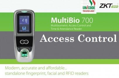 ZK TECO Multibio700 Access Control